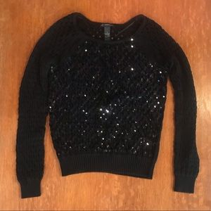 Small International Concepts Sparkly Sweater